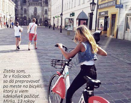 Zdieľané bicykle sú pre všetkých