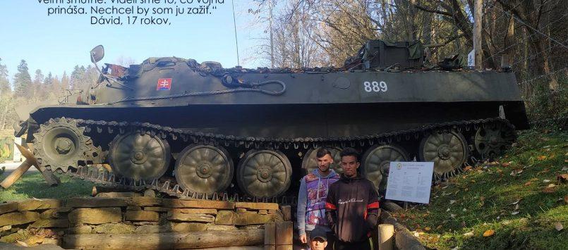 Návšteva Vojensko-historickej expozície